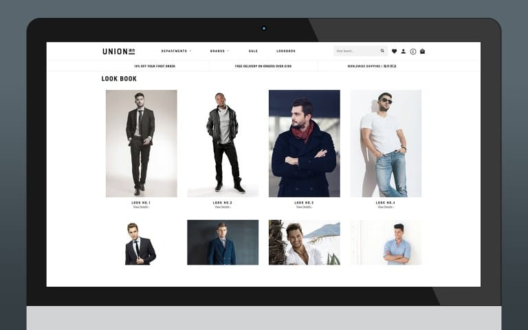 Look Book (Grid Layout)