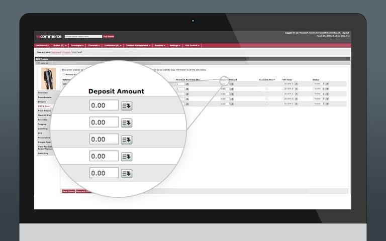 Pre-Order System (Deposit)