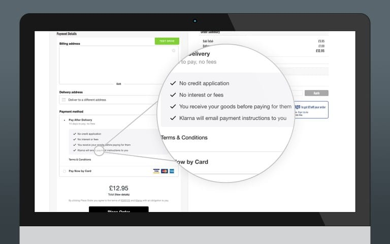 Klarna Checkout Integration (Primary Payment Gateway)