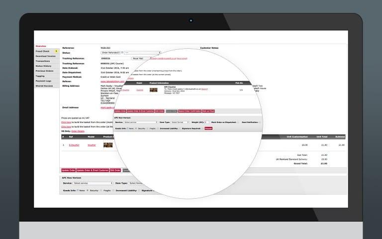 Courier Integration - APC New Horizon