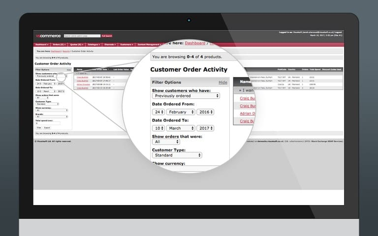 Customer Order Activity