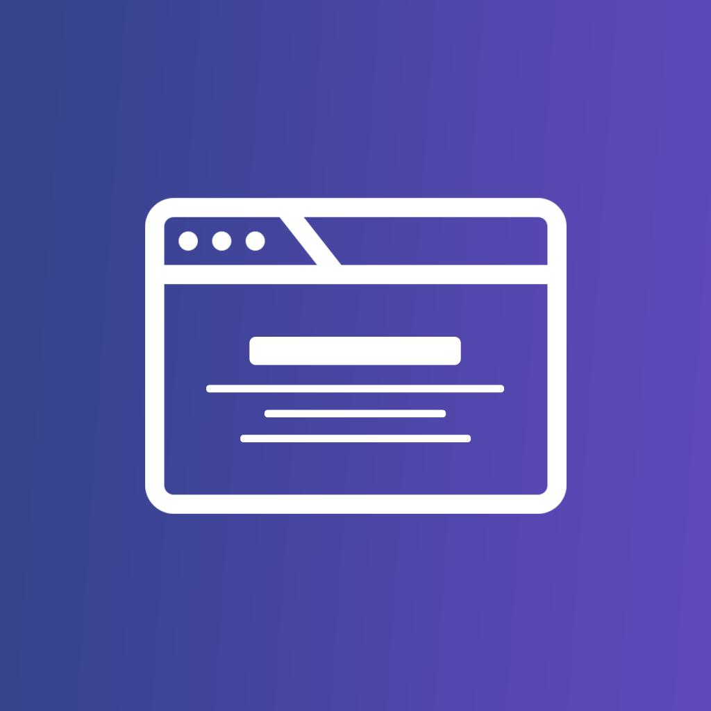 HTML Overlay Promo Units