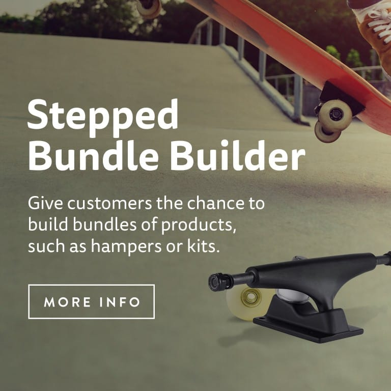 Stepped Bundle Builder