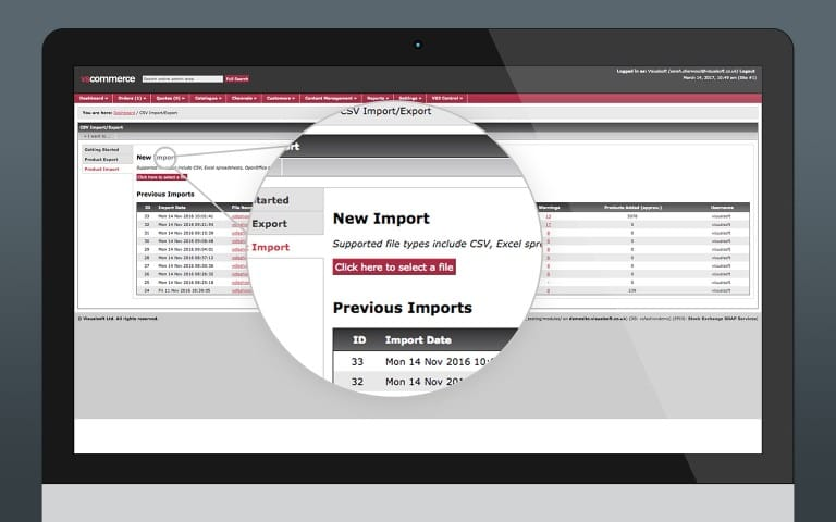 Bulk CSV Product Importer