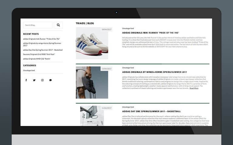 Blog (WordPress)