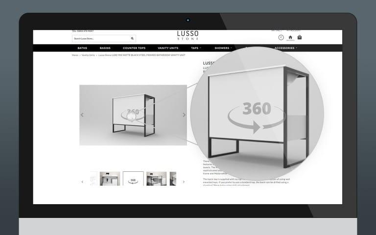 360-Degree Product Images: KeyShot VR 360