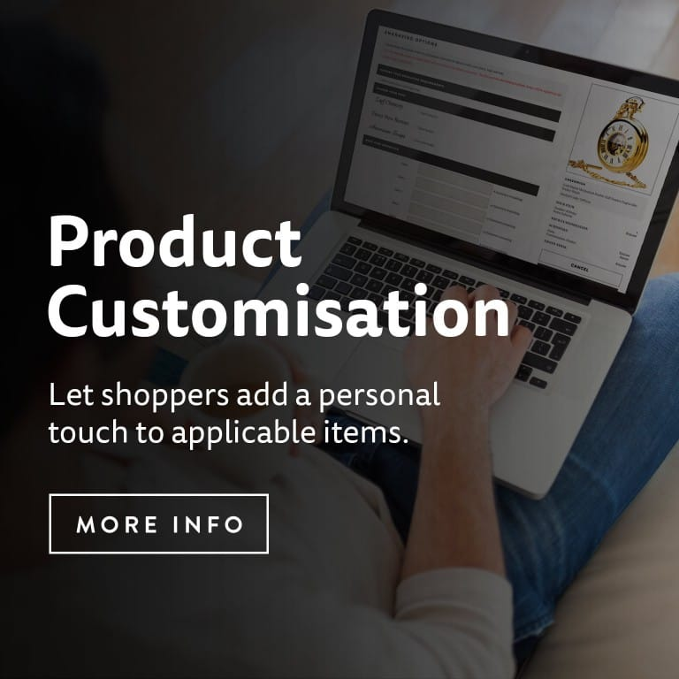 Product Customisation - Staged Style