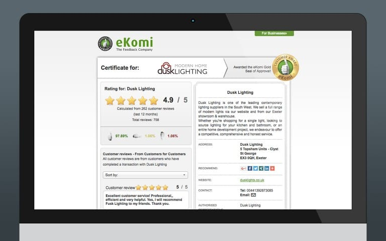 Product Reviews - eKomi