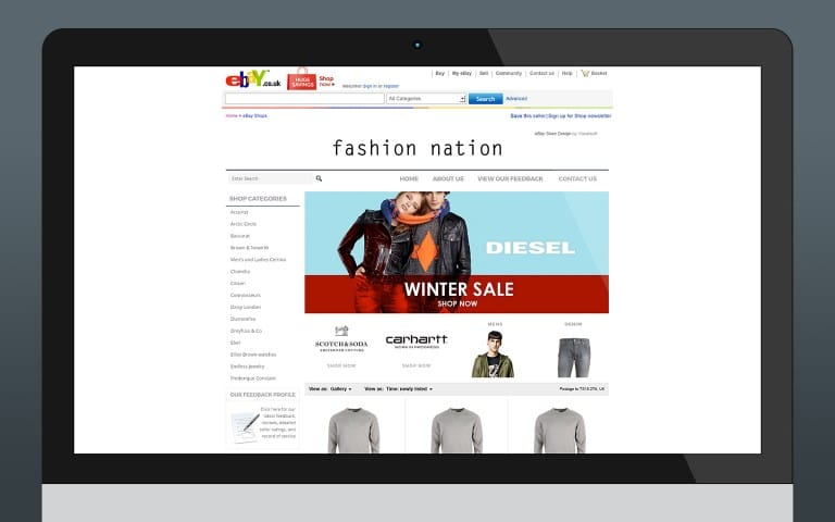 eBay Store Design (VS Integrated)